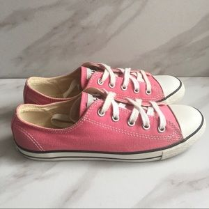 CONVERSE Pink Chuck Taylor Low Top Sneakers